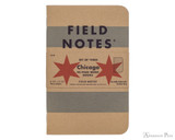 Field Notes Notebooks - Chicago (3 Pack)