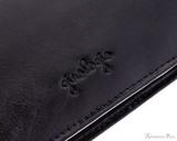 Girologio 48 Pen Case - Black Leather - Girologio