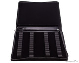 Girologio 48 Pen Case - Black Leather - Open