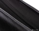 Girologio 48 Pen Case - Black Leather - Zipper