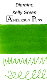 Diamine Kelly Green Ink Sample (3ml Vial)