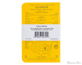 Field Notes Notebooks - County Fair, Illinois (3 Pack) - Back