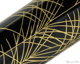 Namiki Chinkin Fountain Pen - Silver Grass - pattern