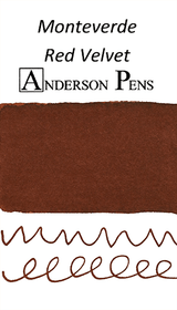 Monteverde Red Velvet Ink Sample (3ml Vial)