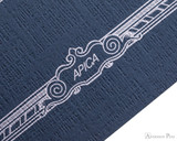 APICA CD15 Notebook - B5, Lined - Navy scroll