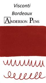 Visconti Bordeaux Ink Sample (3ml Vial)