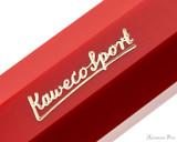 Kaweco Classic Sport Fountain Pen - Red - Imprint