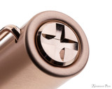 Lamy LX Fountain Pen - Rose Gold - Cap Jewel
