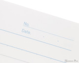 APICA CD15 Notebook - B5, Lined - Red date detail