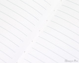 APICA CD15 Notebook - B5, Lined - Red lines closeup