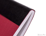 APICA CD15 Notebook - B5, Lined - Red thread binding