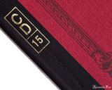 APICA CD15 Notebook - B5, Lined - Red binding