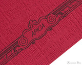 APICA CD15 Notebook - B5, Lined - Red scroll