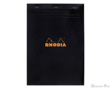 Rhodia No. 18 Staplebound Notepad - A4, Graph - Black
