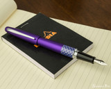 Pilot Metropolitan Fountain Pen - Retro Pop Purple - Posted on Notebook