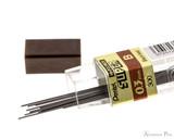 Pentel Super Hi-Polymer B Lead - 0.3mm - 12 Pieces - Open