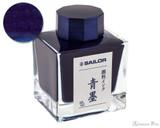Sailor Sei-Boku Pigmented Blue-Black Ink (50ml Bottle)