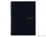 Maruman Mnemosyne N195A Notebook - A5, Lined - Black