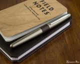 Pilot Metropolitan Fountain Pen - Lizard - On Notebook