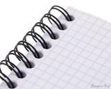 Rhodia No. 13 Wirebound Notebook - A6, Graph - Black perforation