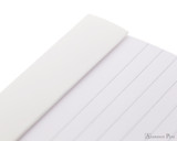 Rhodia No. 13 Staplebound Notepad - A6, Lined - Ice White perforations
