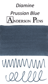Diamine Prussian Blue Ink Color Swab