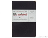 Clairefontaine Basic Staplebound Duo - 3.5 x 5.5, Lined - Black