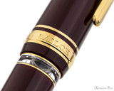 Sailor 1911 Realo Fountain Pen - Maroon with Gold Trim - Ink WIndow