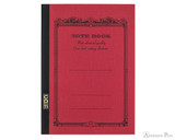 APICA CD11 Notebook - A5, Lined - Red