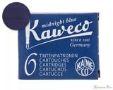 Kaweco Midnight Blue Ink Cartridges (6 Pack)