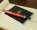 Pilot Metropolitan Fountain Pen - Retro Pop Red - Posted on Notebook