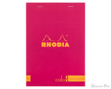 Rhodia No. 16 Premium Notepad - A5, Lined - Raspberry