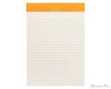 Rhodia No. 16 Premium Notepad - A5, Lined - Anis Green open