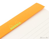 Rhodia No. 16 Premium Notepad - A5, Lined - Anis Green perforations