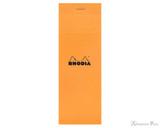 Rhodia No. 8 Notepad - 3 x 8.25, Graph - Orange