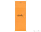 Rhodia No. 8 Notepad - 3 x 8.25, Graph - Orange