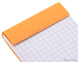 Rhodia No. 8 Notepad - 3 x 8.25, Graph - Orange perforations