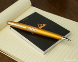 Pilot Metropolitan Ballpoint - Retro Pop Orange - On Notepad