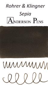 Rohrer & Klingner Sepia Ink Color Swab