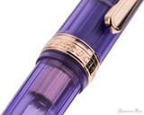 Platinum 3776 Century Nice Fountain Pen - Lavande - Cap Band