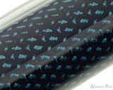 Pilot Vanishing Point Fountain Pen - Blue Carbonesque - Pattern