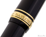 Sailor 1911 Large Fountain Pen - Black with Gold Trim - Cap Band