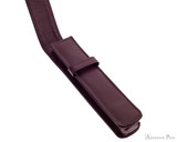 Girologio 1 Pen Case - Brown Leather - Open