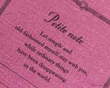 ProFolio Petite Journal - Medium, Berry - Cover