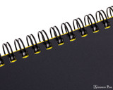 Maruman Mnemosyne N180A Notebook A4 - Graph - Outside Binding