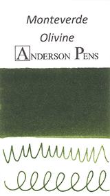 Monteverde Olivine Ink Color Swab