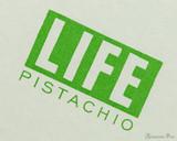 Life Pistachio Notebook - B6 (5 x 7), Graph Paper - Closeup
