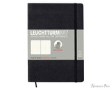 Leuchtturm1917 Softcover Notebook - A5, Dot Grid - Black