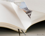 Leuchtturm1917 Softcover Notebook - A5, Dot Grid - Black back pocket