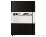 Leuchtturm1917 Master Classic Notebook - A4+, Graph - Black